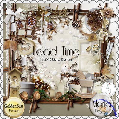 Scrap-set - Lead Time by GoldenSun Designs and Marta Designs