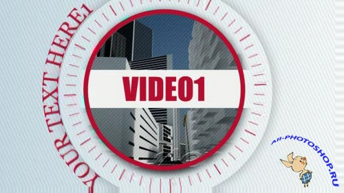Videohive - Concise Red