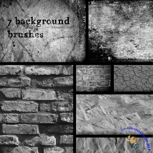 7 hi res background brushes