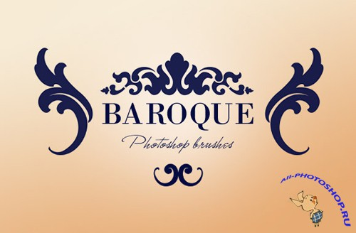 Baroque photoshop brushes
