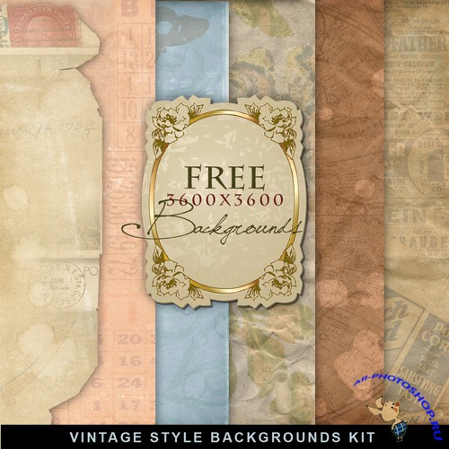 Textures - Old Vintage Backgrounds #48