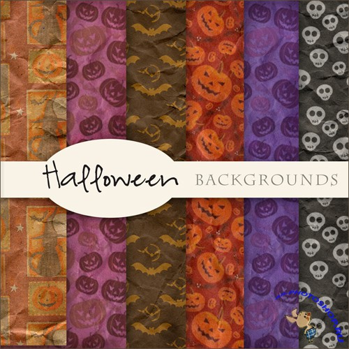 Textures - Halloween Backgrounds #1