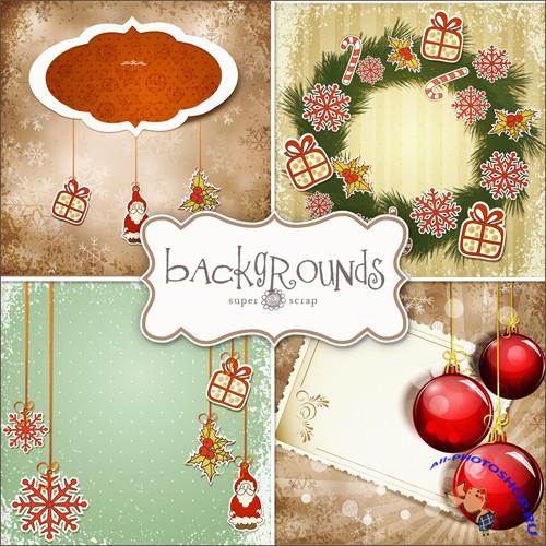 Textures - Christmas Backgrounds #2