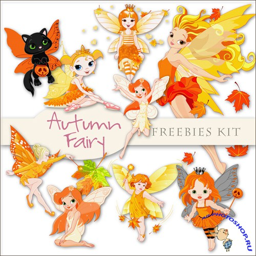 Scrap-kit - Autumn Fairy