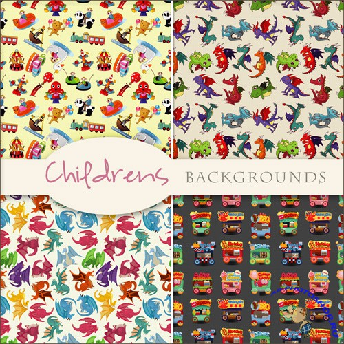 Textures - Childrens Backgrounds #1