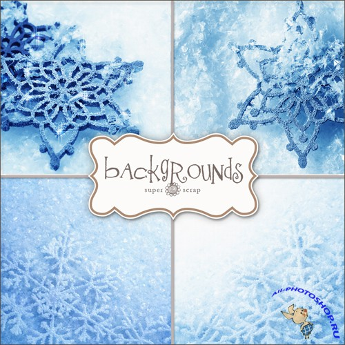 Textures - Snow Backgrounds #1