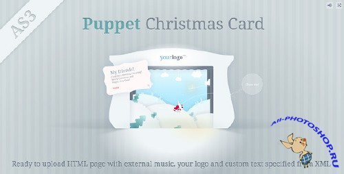 ActiveDen - Puppet Christmas Card XML - Rip