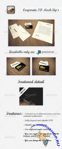 GraphicRiver - Corporate ID Mock-Up's