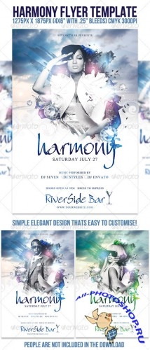 GraphicRiver - Harmony Flyer Template