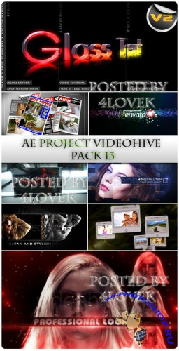 AE Project Videohive pack 13