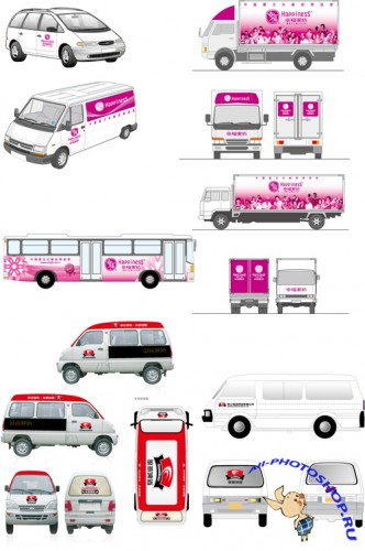 Vector Image - Vehicle Stickers