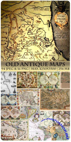 Old Antique Maps