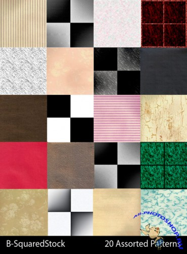 Assorted Photoshop Patterns
