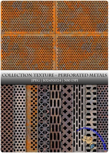Textures - Perforated Metals