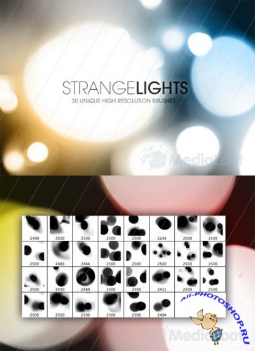 Strange Lights Brushes