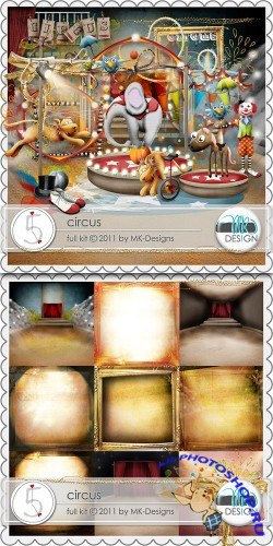 Scrap-set - Circus by MK design