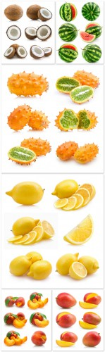 Photo Cliparts - Fruits
