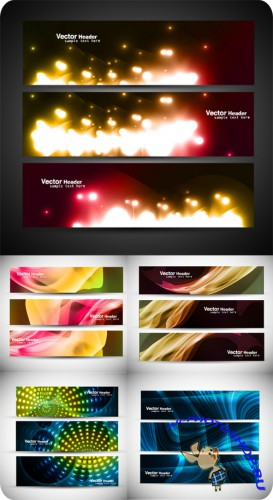Colorful Banners Design Vector