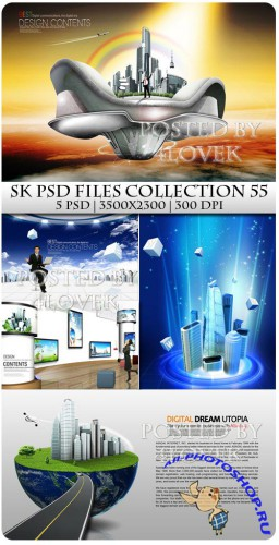 SK PSD files Collection 55