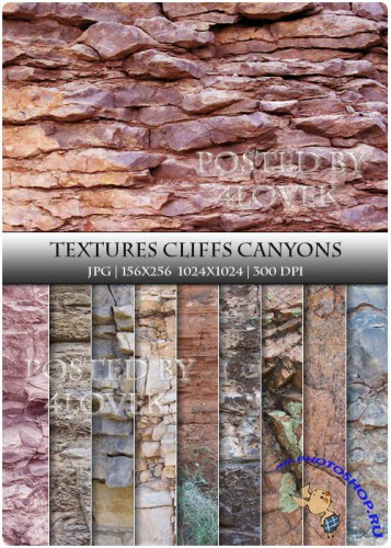 Textures - Cliffs Canyons