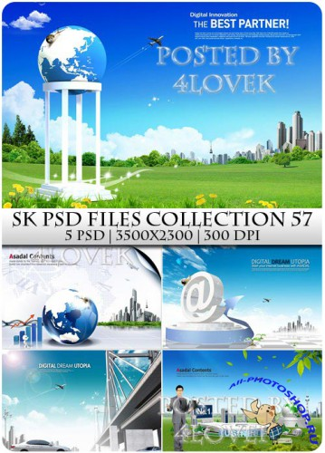 SK PSD files Collection 57
