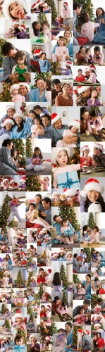 Asian Family Christmas - Image Source IS442