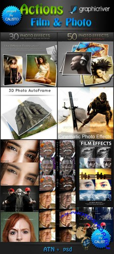 GraphicRiver - Actions Film & Photo Pack