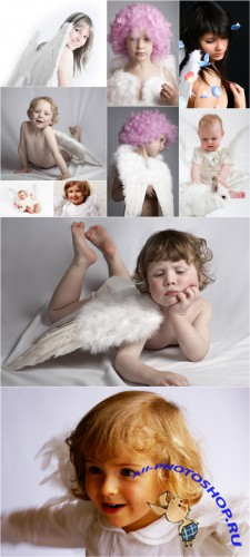 Photo Cliparts - Angel people