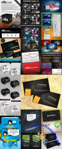 GraphicRiver - Business Cards PSD Templates