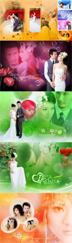 Love Diary Series - If Mengfei Yarn - Wedding Templates
