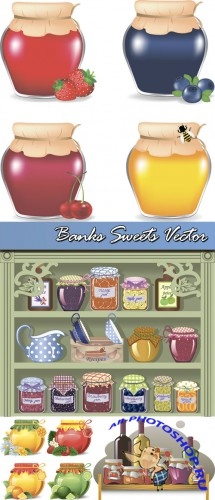 Banks Sweets Vector