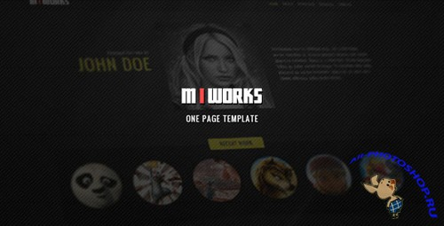 ThemeForest - MIWORKS - HTML One Page Template - Rip