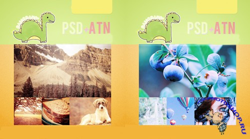 Photoshop Actions 12, 13