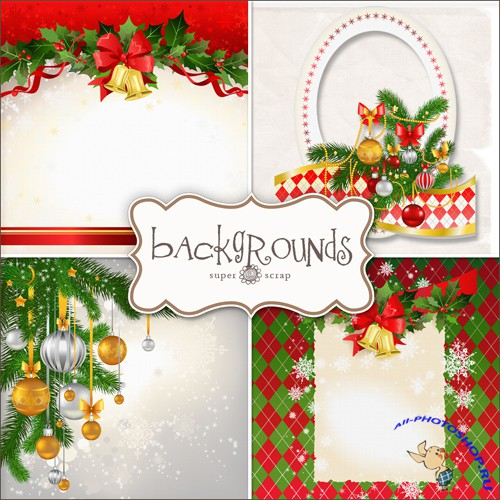 Textures - Christmas Backgrounds #3
