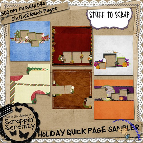 Holiday Quick-pages Sampler