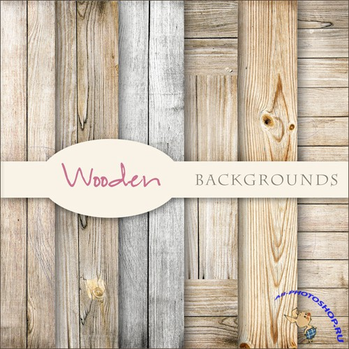 Textures - Soft Lights Wooden Backgrounds