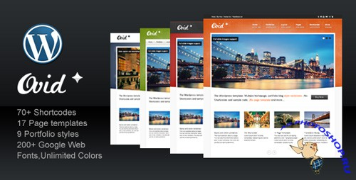 Ovid v1.0 - ThemeForest Business Corporate Portfolio WordPress Theme