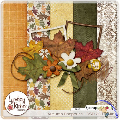 Scrap-set - Autumn Potpourri