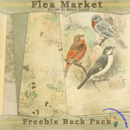 Backgrounds - Flea Market