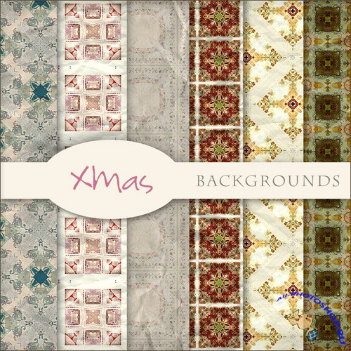 Textures - Christmas Backgrounds #5