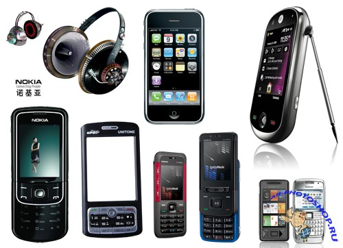 Daquan Apple Nokia mobile picture phone psd friction material