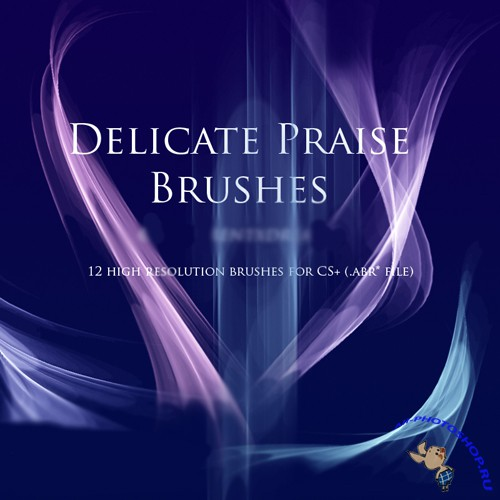 Delicate Praise Brushes