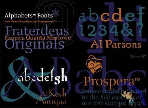 Alphabets Inc (fonts)
