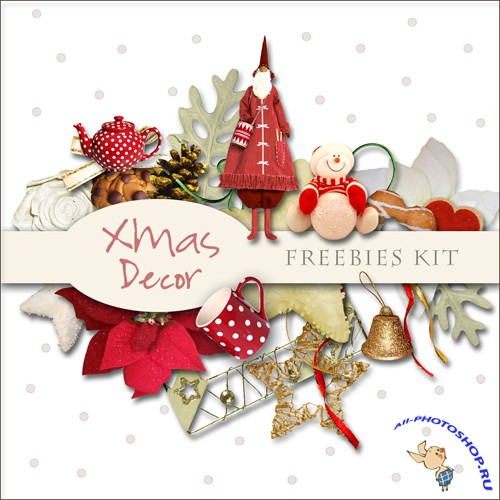 Scrap-kit - X-mas Decor #2