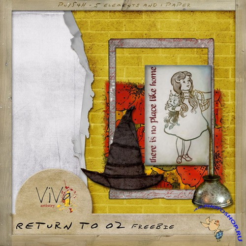 Scrap-kit - Return to Oz