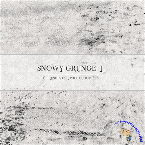 Snowy Grunge I brushes