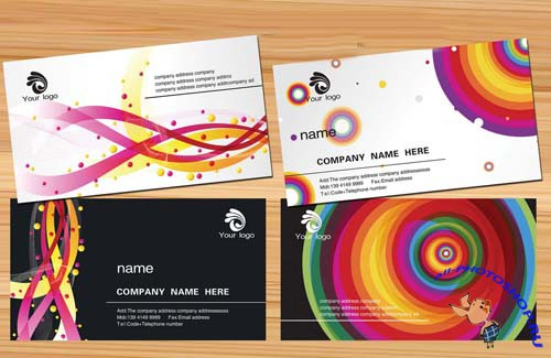 Avant-Garde Fashion Business Card Templates Personalized