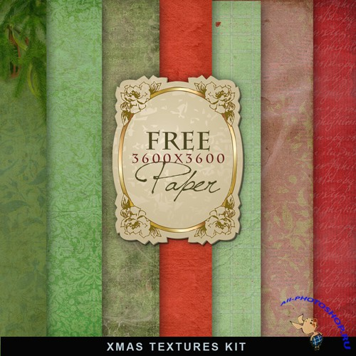 Textures - Christmas Backgrounds #6