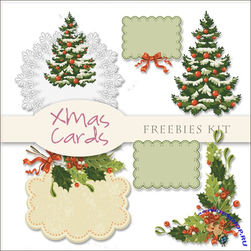 Scrap-kit - Christmas Cards