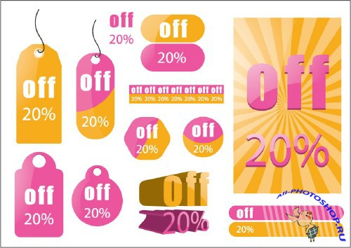 Sale Tag Vectors